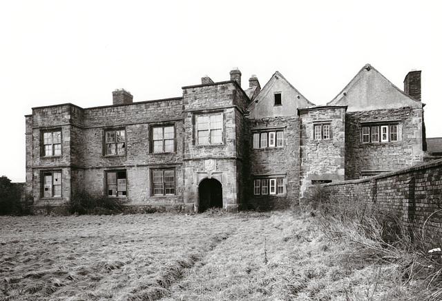 Denby Old Hall, Derbyshire (demolished)