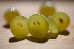 Bokeh Thursday: Group of Grapes Bokeh