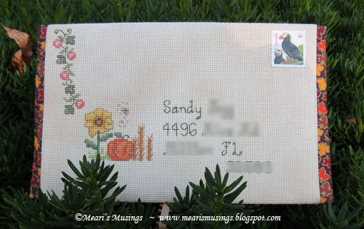 Fall Mailart - Front 8/24/2013