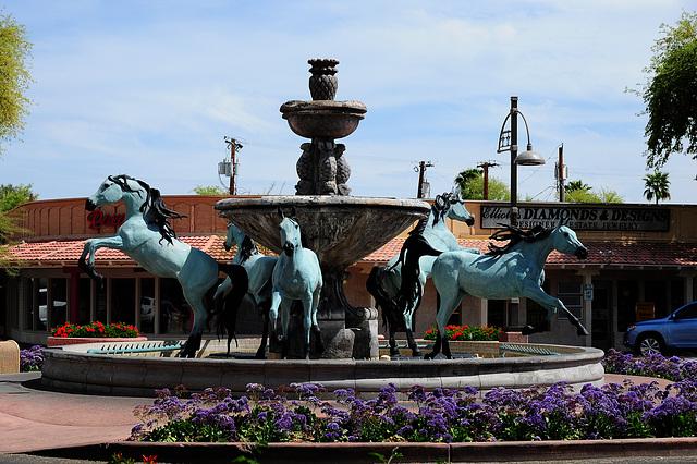 5-Pferde-Kaskade