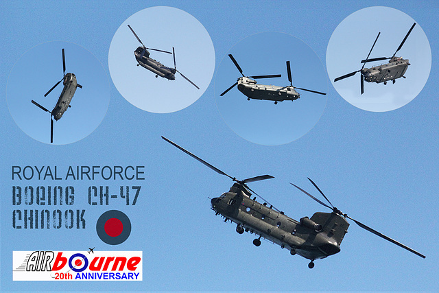 Chinook Airbourne 2012