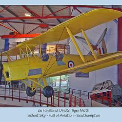 de Havilland  DH82 - Tiger Moth - Solent Sky - Southampton - 8.8.2005