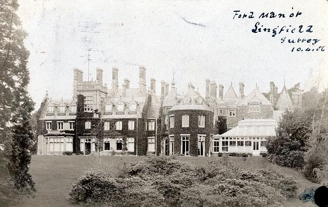 ipernity ford manor lingfield surrey   buildings fan