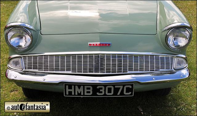 1965 Ford Anglia - HMB 307C