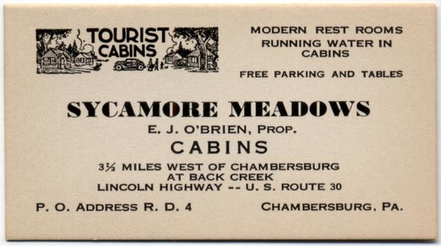 Sycamore Meadows, Chambersburg, Pa.