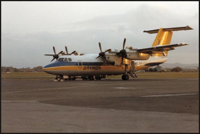 Brymon Airways Dash 7