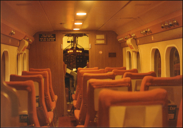 interior of Twin Otter