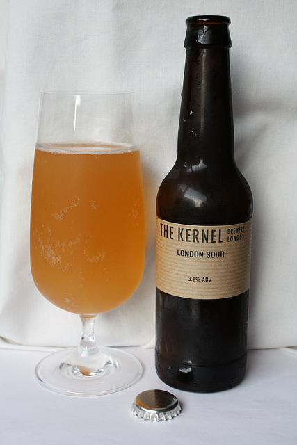 London Sour bottle & glass
