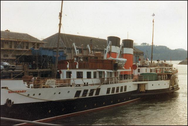 PS Waverley at Plymouth