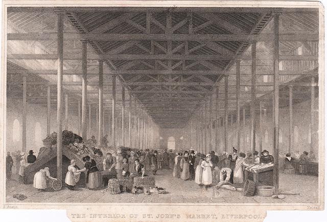 Saint John's Market, Liverpool, (Demolished)