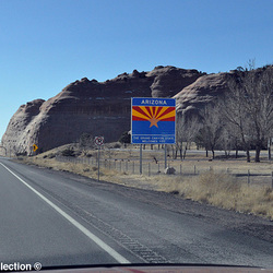 AZ welcome sign i40 wb 12'13