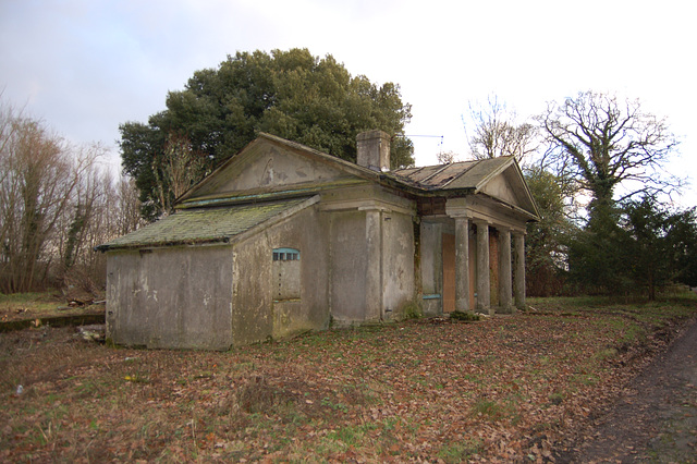 Lodge (now restored), Thorington Hall, Suffolk