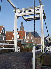 Nederland - Marken, Wilhelminabrug