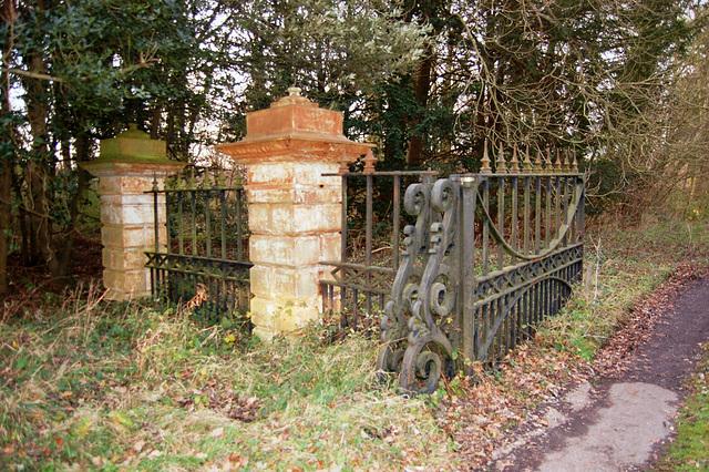 Entrance Gates, Thorington Hall, Suffolk