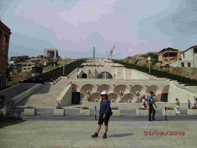 Kaskada komplekso en Erevano