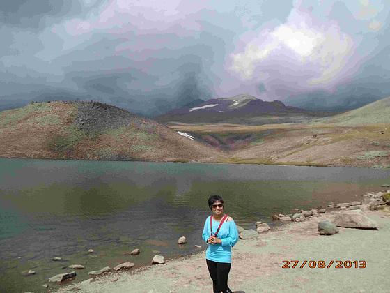 Lago Kari (malantauxe monto Aragats)