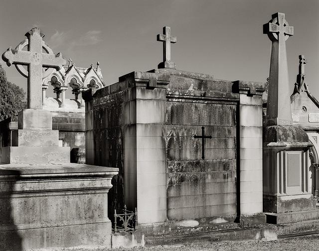 Row of Vaults & Crosses