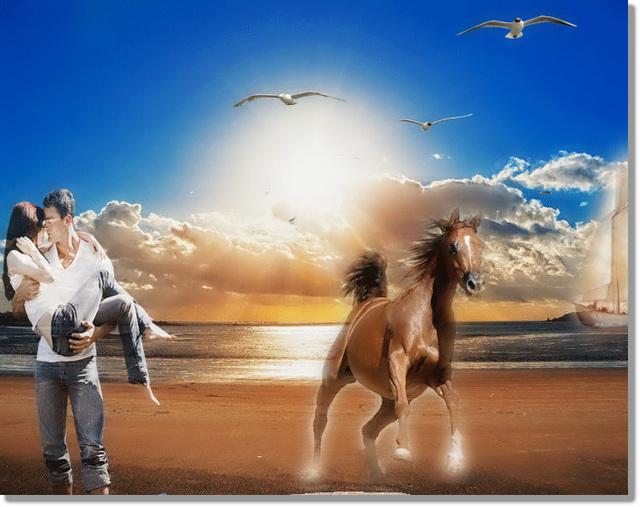 s'aimer s'est aussi regarder dans la même direction, avec un espace de liberté