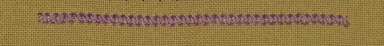 #79 - Chained Cross Stitch