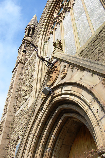 Former Cannon Street Baptist Chapel, Accrington, Lancashire