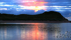 Sundown Over Sandwood Lagoon