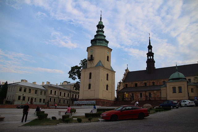 Bell tower in Kielce