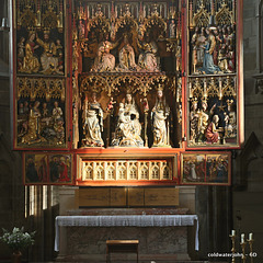 Altar detail within St Stephen's Cathedral