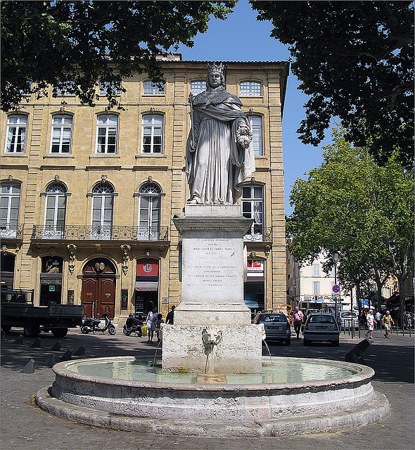 fontaine du  roi René