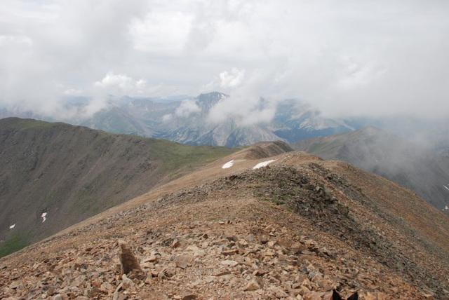 Down the Summit Ridge