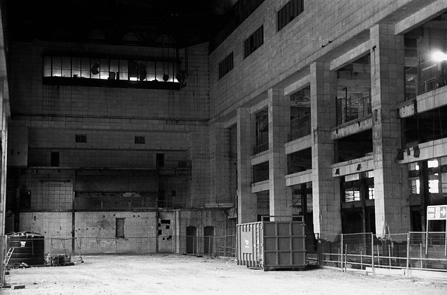 Battersea Powerstation interior.