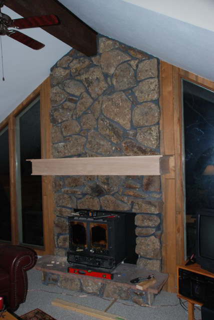 Mantle - First Fit-up