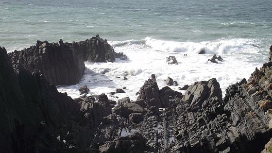 The rugged coast of Hartland