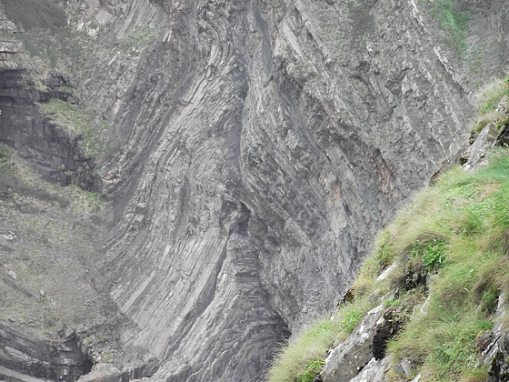 Hartland cliffs are very rugged