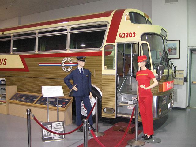 Golden Eagle Continental Trailways Bus