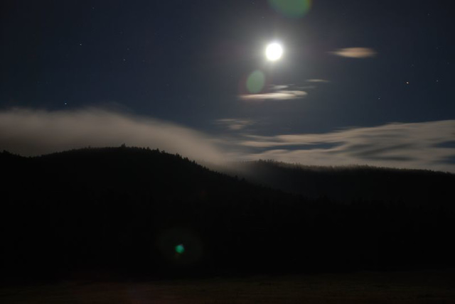Moon Over Meyer Ranch