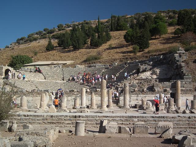 The Amphitheatre at Ephesus