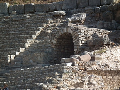 Entrance to the amphitheatre at Ephesus