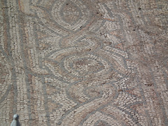 Mosaic floor at Ephesus