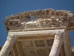 Library roof detail at Ephesus