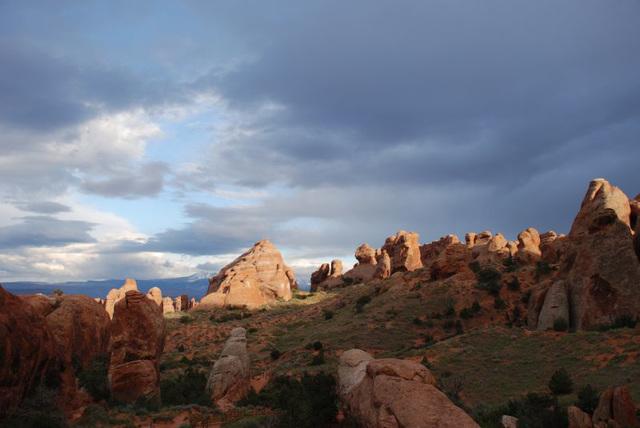 Landscape Arch Rocks