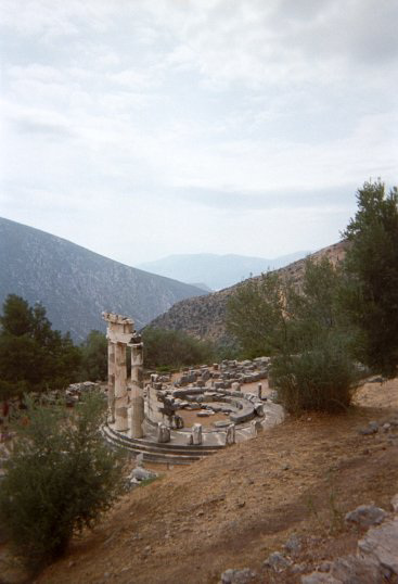 Temple of Athena Pronaios
