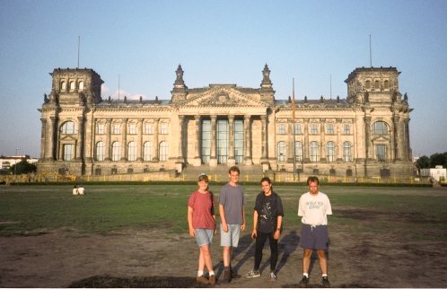 Reichstag Group Photo