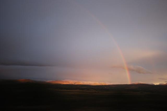 Rainbow Sunrise Over South Par