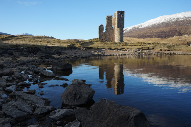 Ardvreck Castle, Loch Assynt, Scottish Highlands