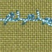 #84 Spiked Knotted Cable Chain stitch