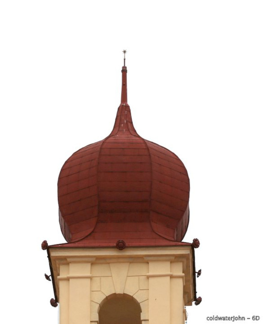 Esterhazy Palace Roof Decor, with 400mm lens
