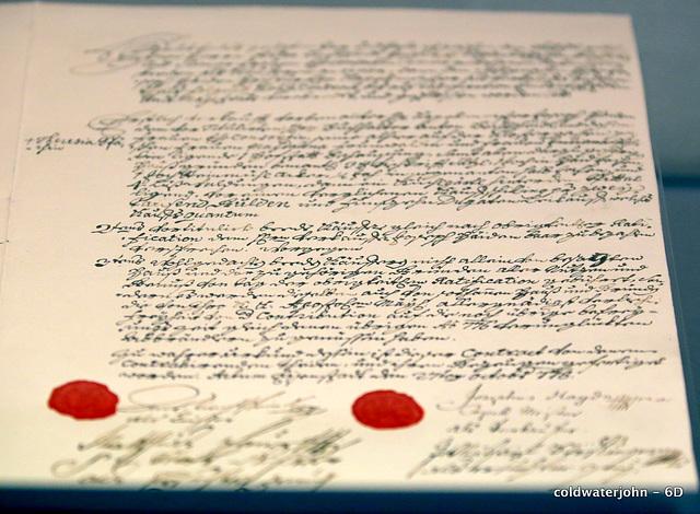 Joseph Haydn's contract with the Prince Esterhazy