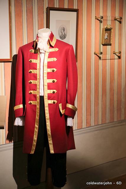 Haydn's House, Eisenstadt - Haydn's Court Officer Uniform