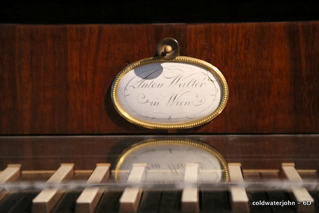 Haydn's House, Eisenstadt - Haydn's Piano detail