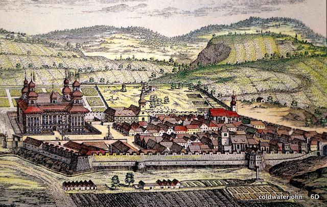 Esterhazy Palace Painting in Haydn's House, Eisenstadt